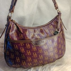 Authentic purple Dooney & Bourke purse handbag